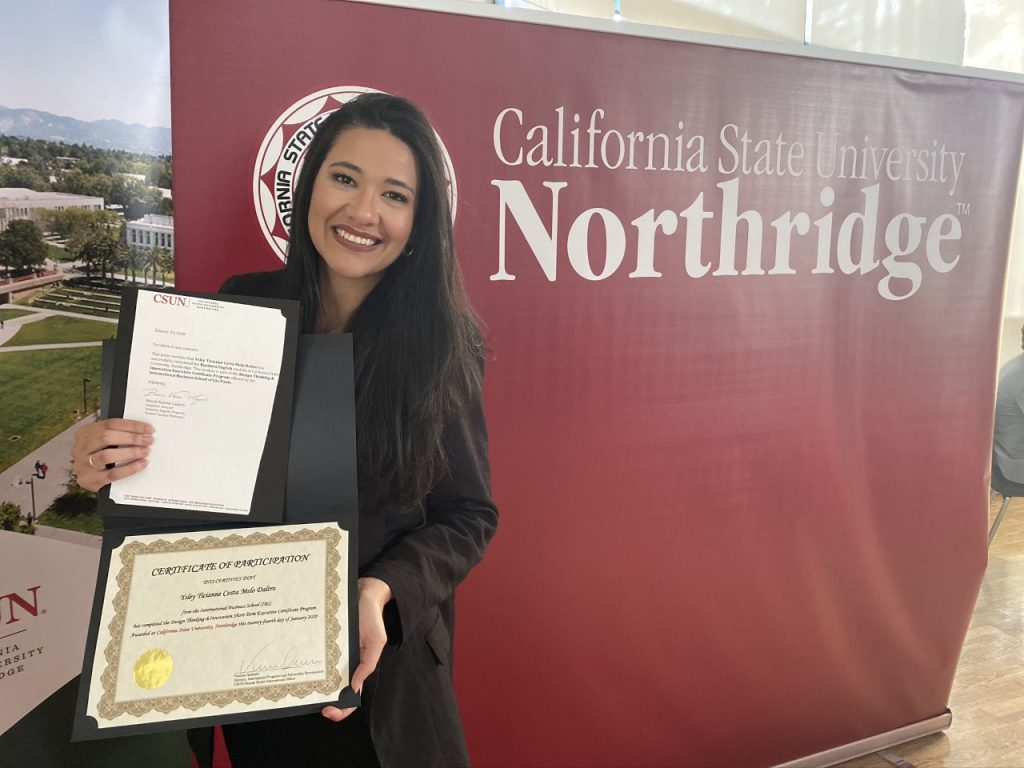 Inside CSUN: interview with a former student, Ysley Daltro, from the course Design Thinking & Innovation
